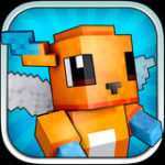 Pixelmon Hunter – Fighting at block style arena with skins exporter for minecraft