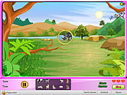 Safari Animals Search Hunt